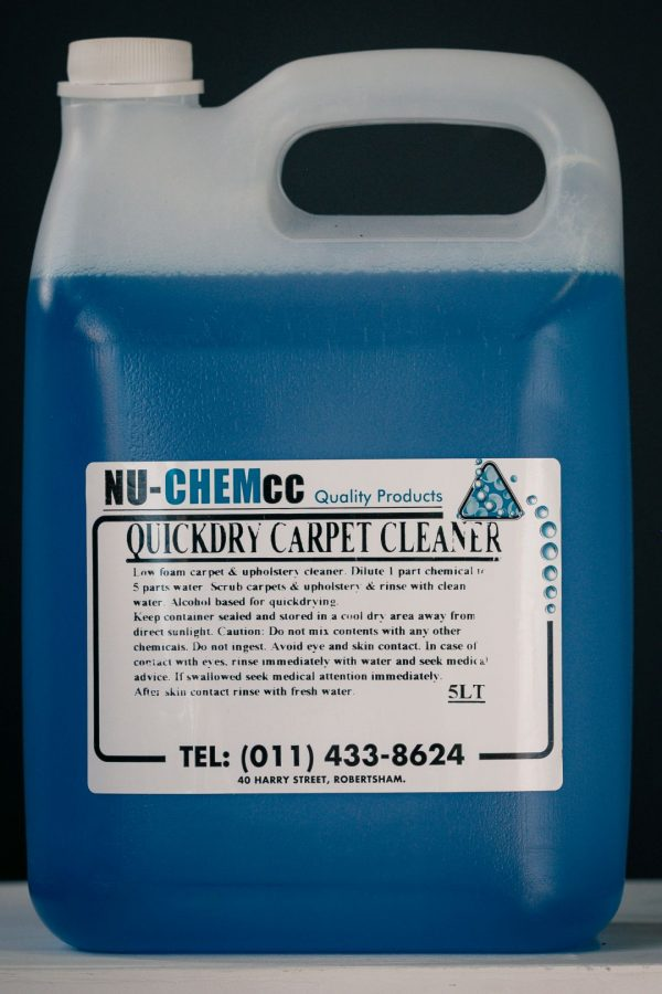 Carpet and Upholstery Cleaner (Quickdry)