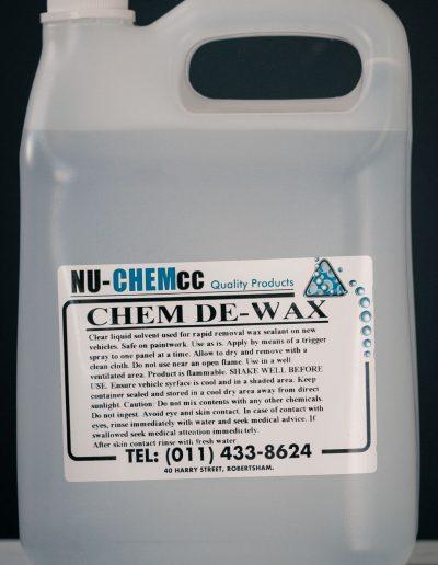 Chem De Wax (Solvent De-Waxer)