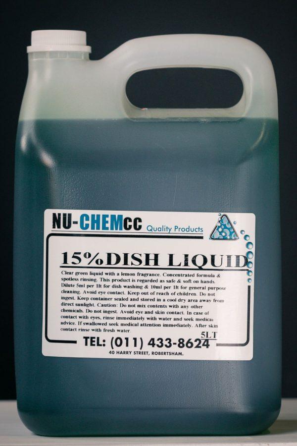 Dish Liquid Premium - Green (15%)