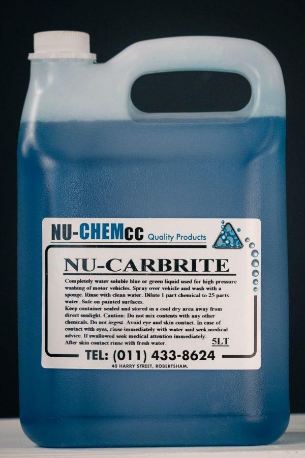 Nu-Carbrite Concentrate Auto Shampoo