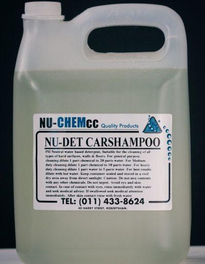 Nu-Det Car Shampoo