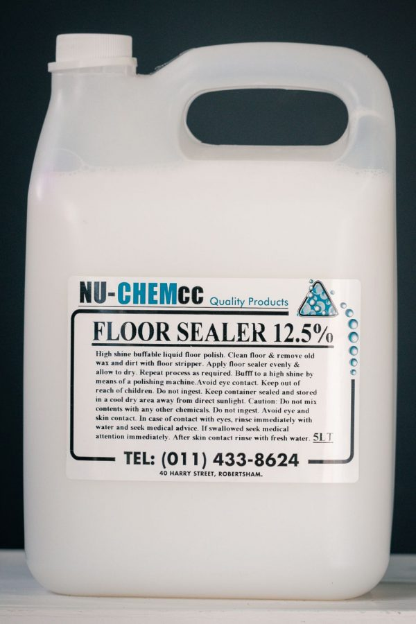 Polymer Floor Polish 12.5%