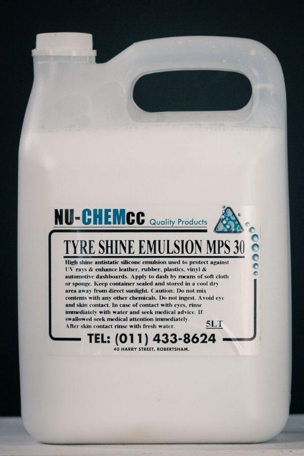 Tyre Shine (Emulsion) MPS30
