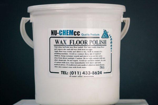Wax Floor Polish 5kg 20kg