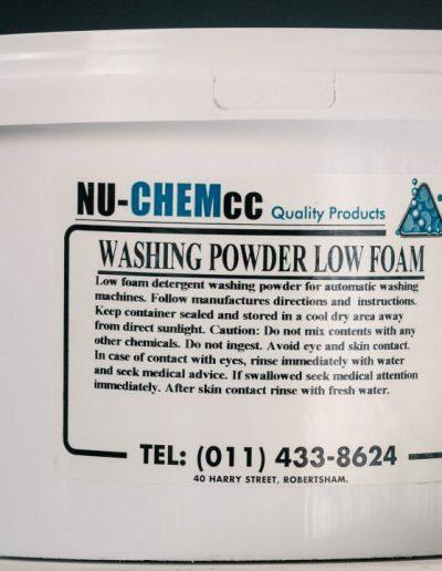 Nu-Low Foam Wash Powder 5kg - (Auto Wash)