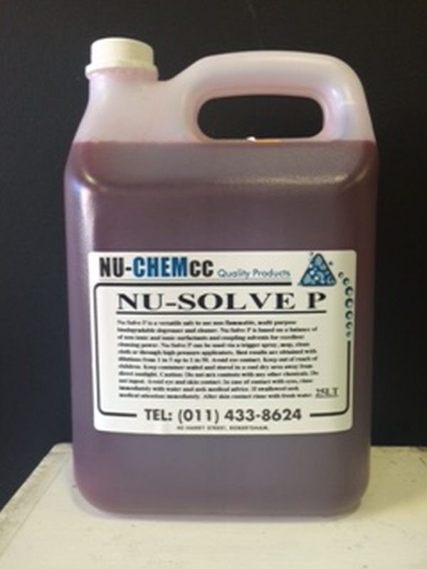Nu-Solve P Heavy Duty Degreaser