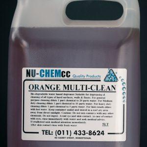 Orange Multi Clean