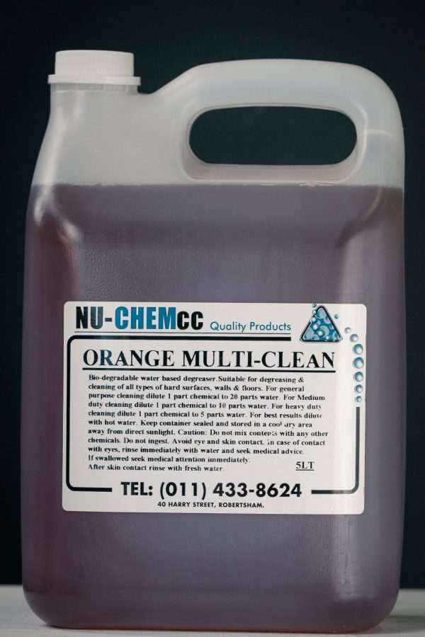 Orange Multi Clean